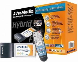 Die AVerMedia AVerHybrid TV-Karte