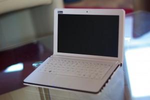 Das Netbook Q10 air im klassisch-eleganten Design.