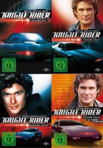 Die Serie Knight Rider gibt es komplett auf DVD!