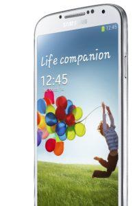 Das Samsung Galaxy S4 Smartphone