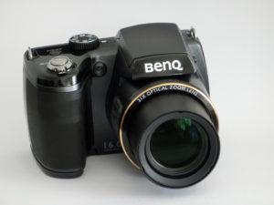 Eine preiswerte Bridgekamera: Die BenQ GH700 (Foto: nurido.eu)