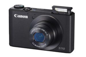 Sie sind klein und knipsen trotzdem gute Bilder: Digicams wie die Canon PowerShot S110. (Foto: Amazon.de)