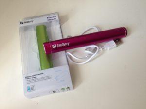 Die Sandberg PowerBar gibt es in zwei verschiedenen Größen und vielen Farben (Foto: nurido.eu)