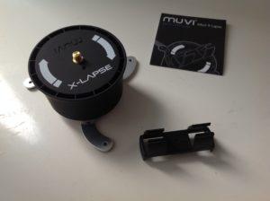 Dank der Veho Muvi X-Lapse VCC-100-XL Stativhalterung kann man ein Smartphone oder eine Digitalkamera montieren.