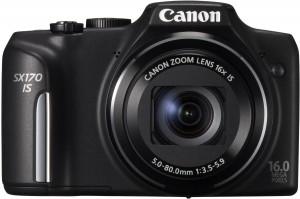 Die preiswerte Allround-Kamera Canon PowerShot SX 170 IS (Foto: Amazon.de)