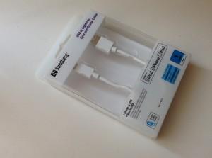 Ein zertifiziertes Lightning-Kabel von Sandberg, das 100%ig Apple-kompatibel ist.