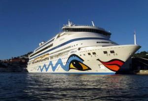 Günstige Kreuzfahrten gibt es zum Beispiel bei AIDA Cruises