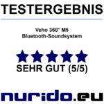 Testurteil Veho M5 Bluetooth Soundsystem