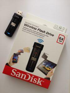 Das SanDisk Connect Wireless Flash-Drive erlaubt die drahtlose Kommunikation mit iOS-, Android- & Kindle Fire-Geräten sowie Computern mit Windows und Mac OS
