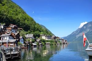 Hallstatt im Salzkammergut ist einer der meistbesuchten Orte in Österreich