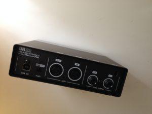 Das Steinberg UR22 USB 2.0 Audiointerface und Mikrofon-Preamp