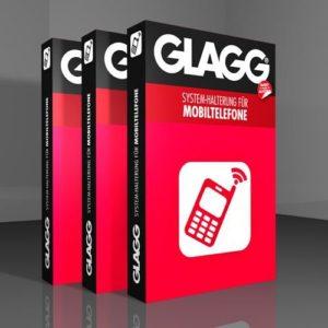 Halterungen von GLAGG gibt es zum Beispiel für Mobiltelefone (Foto: Amazon.de)