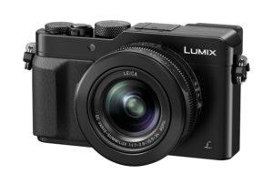 Die Panasonic Lumix LX100 besitzt den Bildsensor einer Micro-Four-Thirds-Kamera und ein lichtstarkes Objektiv sowie eine 4K-Videoaufnahme (Foto: Amazon.de)