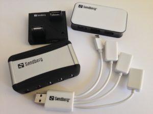 Die USB-Hubs von Sandberg im Überblick
