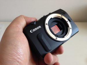 Systemkameras - wie die Canon EOS M - besitzen einen vergleichsweise großen Sensor