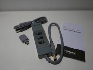 Der Inateck HB4009 USB 3.0-Hub mit Magic Port