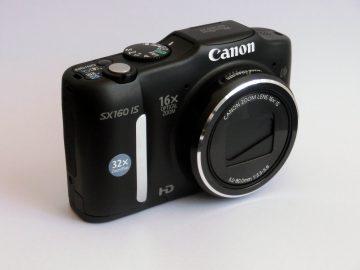 Die Canon PowerShot SX160 IS im Test