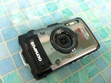 Die Olympus Tough TG-1 Digitalkamera